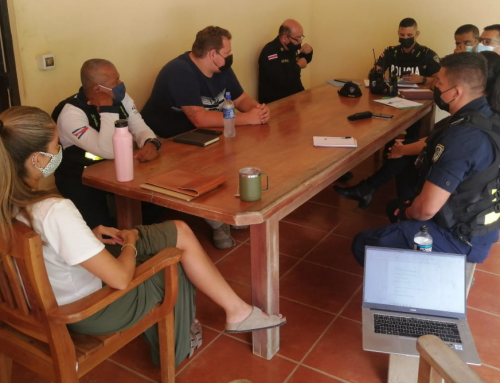 NCA and the Security Association join forces with OIJ and the Public and Tourist Police Forces to improve the security of Nosara