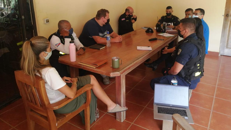 NCA y Asociación de Seguridad unen a OIJ, Fuerza Pública y Turística para mejorar la seguridad de Nosara
